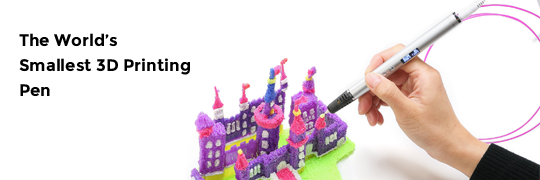 the smallest 3d printing pen in the world