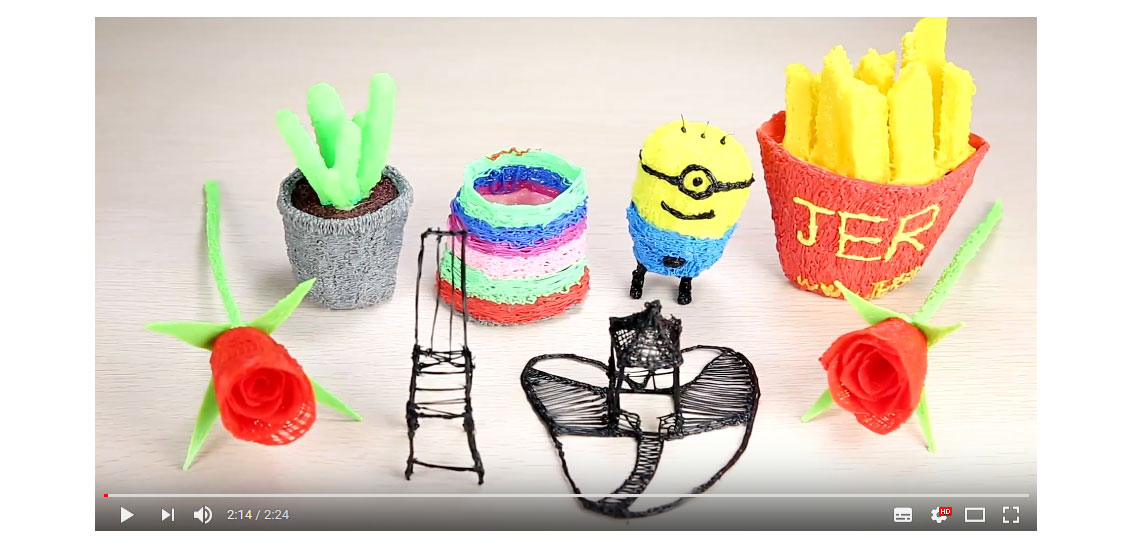 jer education-multi-color 3d printing pen